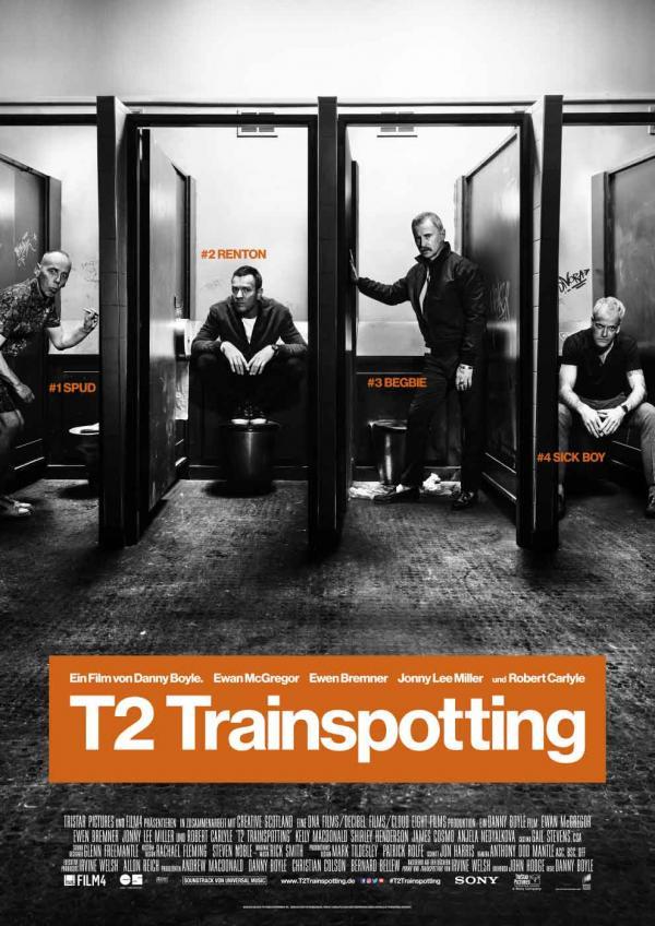 T2 Trainspotting deutsches Hauptplakat