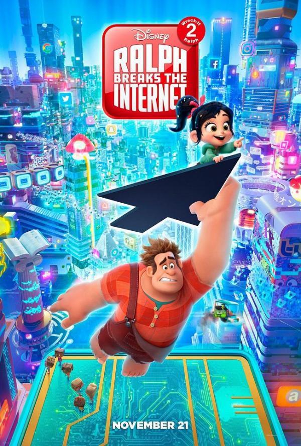 Webcrashers Ralph reichts 2 Poster
