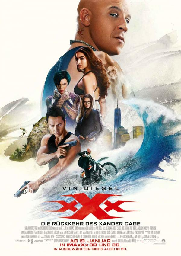 xXx 3 - Die Rückkehr des Xander Cage Poster