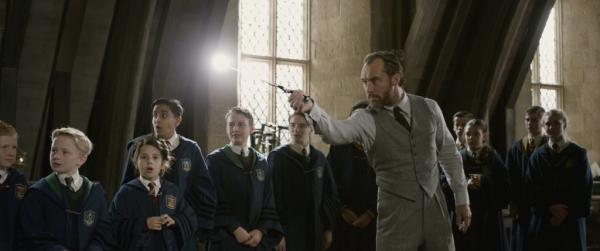 Fantastic Beasts: Grindelwalds Crimes Set Still