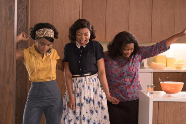 Taraji P. Henson, Octavia Spencer und Janelle Monáe in Hidden Figures