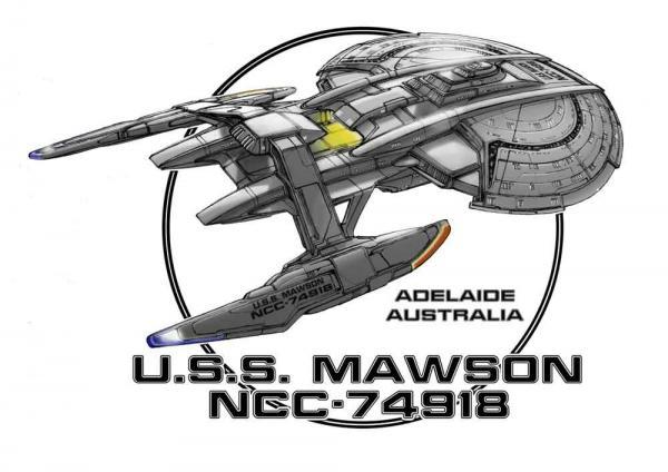 John Eaves' Design der USS Mawson