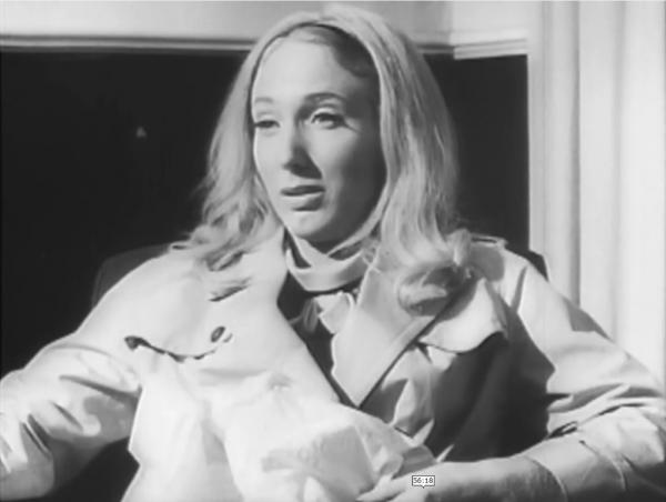 Judith O'Dea as Barbara in Night of the Living Dead