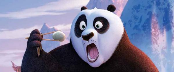 Po ahnt großes Unglück für das Tal der Pandas aufziehen.