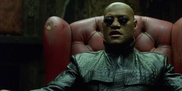 Laurence Fishburne Morpheus Matrix