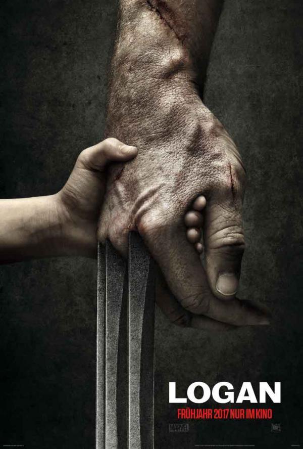 """Titelposter zum 3. Wolverine-Film \""""Logan"""""""