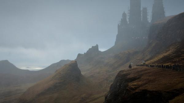 Unseen Westeros Art Harrenhall by Sven Sauer