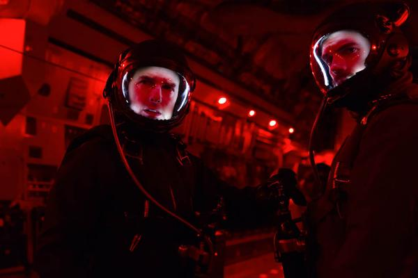Mission Impossible Henry Cavill und Tom Cruise