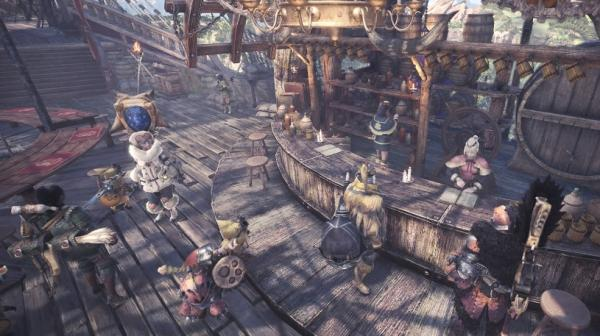 Monster Hunter: World Gathering Hall