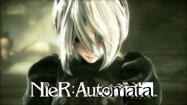 Nier: Automata Logo Fullscreen