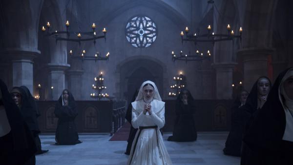 Taissa Farmiga in The Nun