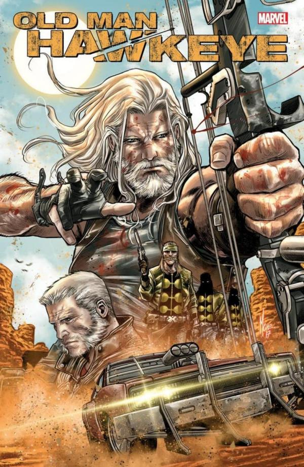 Cover zu Old Man Hawkeye