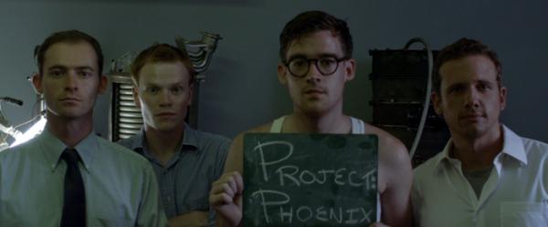 die vier Wissenschaftler aus Phoenix Project