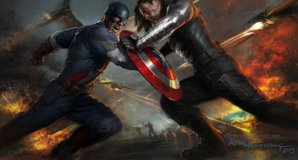 Captain America The First Avenger und der Winter Soldier
