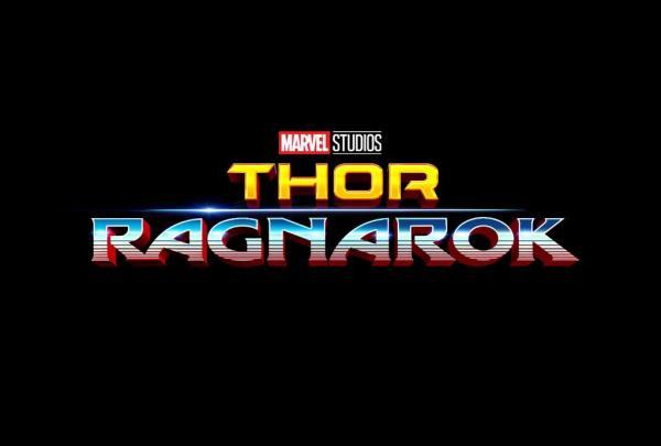 Schriftzug-Logo zu Marvels Thor: Ragnarok