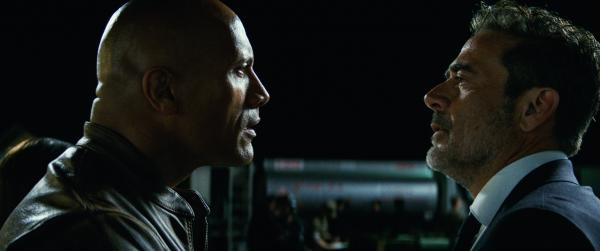 Dwayne Johnson und Jeffrey Dean Morgan in Rampage