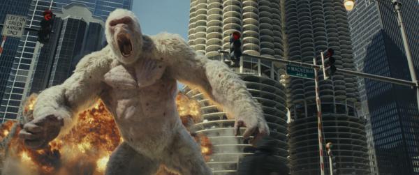 Der Gorilla in Rampage