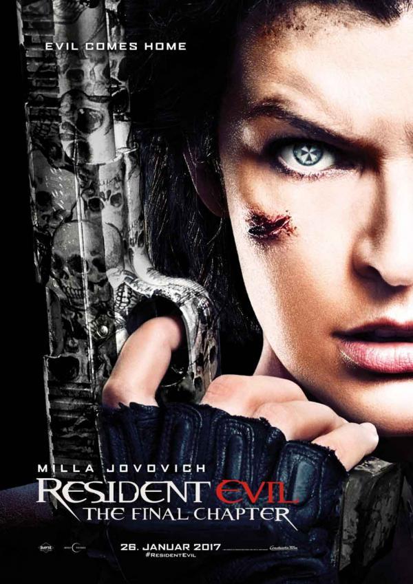 Resident Evil: The Final Chapter - Deutsches Teaser-Plakat