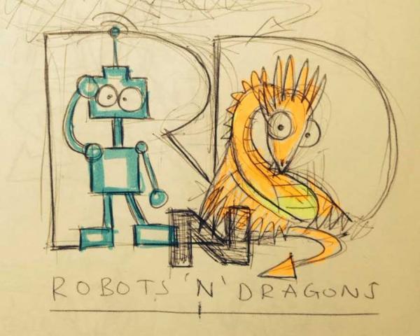 Robots & Dragons - (fast) geschmackssicher seit 2013