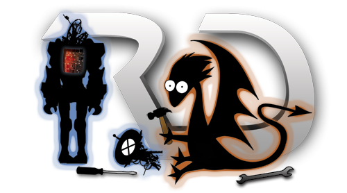 Robots & Dragons Hart bei der Arbeit