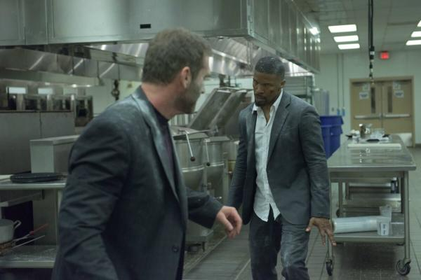 Jamie Foxx als Vincent in einer Kampfszene in Sleepless