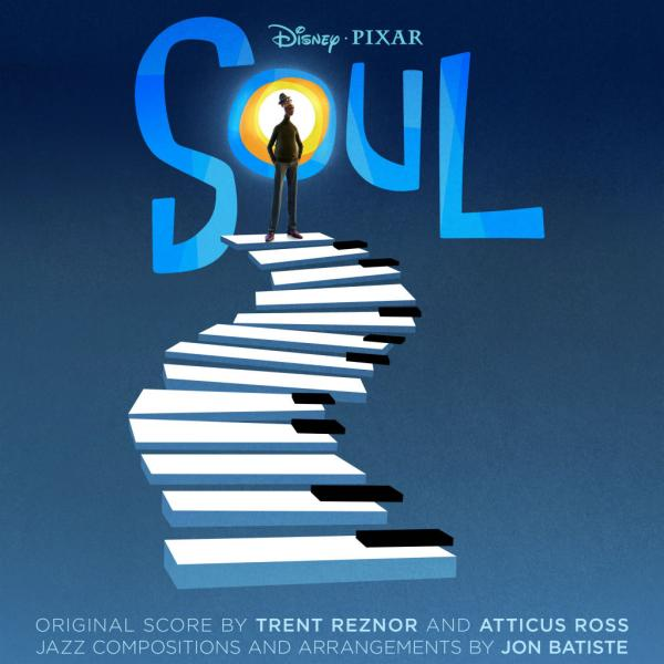 Cover zum Soundtrack des Pixar-Film Soul