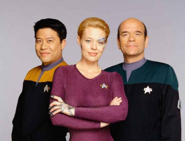 Harry Kim, Seven of Nine und der Holodoc