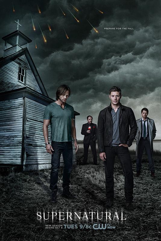 Poster für die neunte Staffel Supernatural