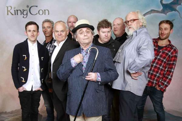 Adam Brown, Jed Brophy, Mark Hadlow, Graham McTavish, Sylvester McCoy, Stephen Hunter, Peter Hambleton, John Callen und Dean O'Gorman zu Gast beim Ring Con Special 'There And Back Again - The Hobbit Convention' im Maritim Hotel. Bonn, 30.03.2013