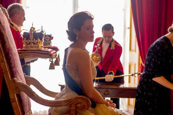 "Claire Foy als Königin Elizabeth II in der Netflix-Serie ""The Crown"""
