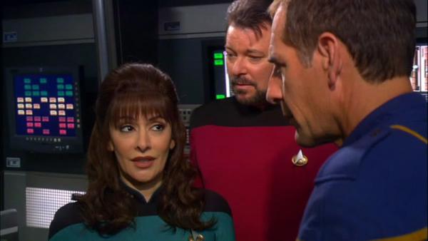 "Szenenbild aus Star Trek: Enterpise \""These Are The Voyages\"""