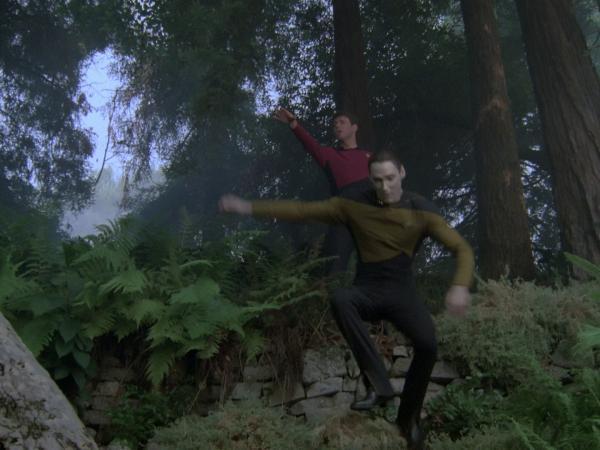 Stuntman für Data in TNG für die Episode Mission Farpoint