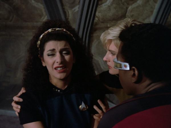 Marina Sirtis als Deanna Troi in Star Trek TNG