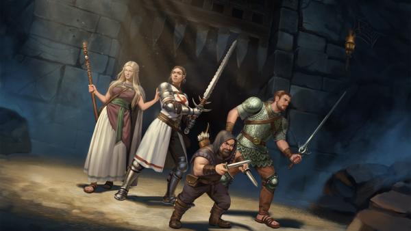 DSA Book of Heroes FB Promo Art