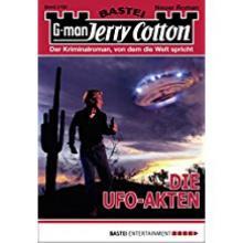 Jerry Cotton, Ufo Akten, Titelbild