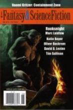The Magazine of Fantasy & Science Fiction Mai/ Juni 2014, Rezension, Thomas Harbach