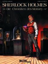 Sherlock Holmes, die Moriarty Chroniken, Titelbild, Rezension