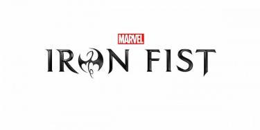 Schriftlogo der Marvel-Serie Iron Fist auf Netflix
