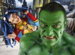 Geek Art: Das Bodypainting-Projekt bringt Marvel & DC zusammen