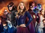 Poster zum Crossover 2016 von Supergirl, Arrow, The Flash & DC's Legends of Tomorrow