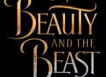 Schriftzug-Logo zur Realverfilmung von Disneys Die Schöne und das Biest