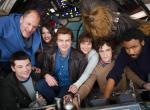 Der Cast zum Drehstart zum Han-Solo-Spin-Off