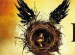 Kind in geflügelten Nest, das nach einem Snitch aussieht - Logo Harry Potter and the Cursed Child