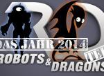 Der Robots-&-Dragons-Jahresrückblick: Der Frühling 2014