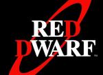 Schriftlogo der britischen Sci-Fi-Comedy Red Dwarf