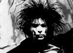 Morpheus in schwarz-weiß