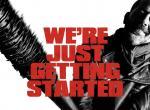 The Walking Dead Staffel 7 Werbeposter mit Negan