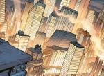 Stadtansicht zur Ankündigung der Serie Metropolis von DC Comics und Warner Bros.