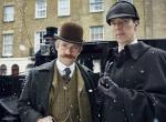 Martin Freeman und Benedict Cumberbatch in Sherlock