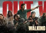 All out War - Key-Art Banner für Staffel 8 von The Walking Dead